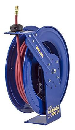"Coxreels 1/2"", 100 ft. Spring Return Hose Reel, 300 psi Max."