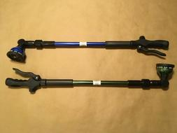 "10-Pattern Telescoping Watering Wand 29""-43"" Hose Nozzle Spr"