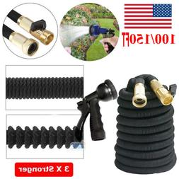100 150 feet garden hose expandable flexible