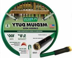 100' Medium Duty Water Hose For Lawn Garden Backyard And Pat