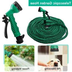 100FT Expandable Adjustable Spray Flexible Car Garden Water