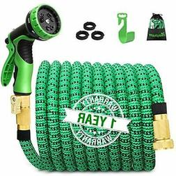 100ft Expandable Garden Hose, Expanding Water With 3/4 Inch