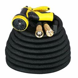 IDESION 100ft Garden Hose Pipe Expandable Magic Water Hose P
