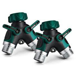 10X(Garden Hose Accessories-2 Way Y Hose Connector Hose Spli