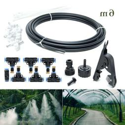 19.6FT Misting System Cooling Fan Cooler Patio Garden Water