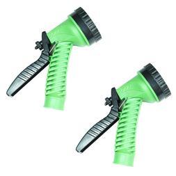 2 Pack Garden Hose Nozzle Water Sprayer - 7 Spray Patterns