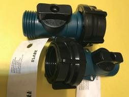 2 pk garden hose shut off waterway