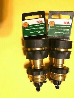 ACE SOLID BRASS GARDEN HOSE QUICK CONNECT / DISCONNECT MALE