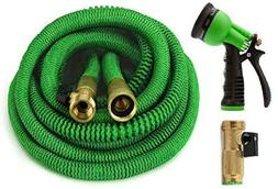 GrowGreen 2019 Garden Hose 75 Feet Improved Expandable Hose