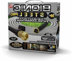 Bionic Steel 2428 PRO Hose-304 Stainless Steel Metal 50 Foot