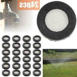24pcs Garden Hose Heavy Duty Washers w/ Filter Screen Nozzle