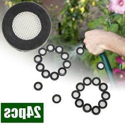 24pcs Inlet Water Hose Filter Garden Washer Mesh Screen Nozz