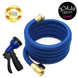25/50/100 Feet Deluxe Expandable Flexible Garden Water Hose