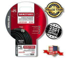 Craftsman 25 Ft Lawn & Garden Hose 5/8 in Rubber Flexible Wa