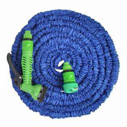 25FT Expanding Flexible Water Hose Pipe Home Garden Hose Wat