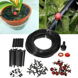 25m DIY Micro Drip Irrigation System Plant Self Garden Water