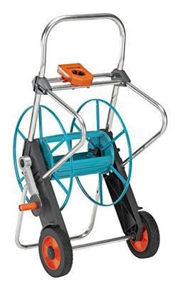 Gardena 2674 262-Foot Wheeled Metal Garden Hose Reel With Ho