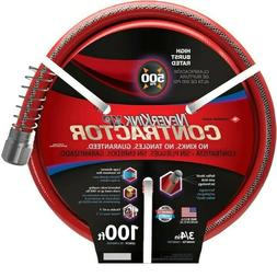 3/4-in x 100' Contractor-Duty Kink Free Vinyl Red Coiled Hos