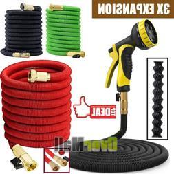 3X Stronger 25-100 FT Expandable Flexible Garden Water Hose