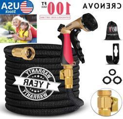 3XStronger Expandable Flexible Garden Water Hose+Spray Nozzl