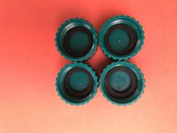 4 Gilmour Polymer ¾ Inch Garden Hose Caps  With Washer