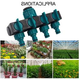 4-Way Water Hose Splitter Adapter Garden Hose Splitter Irrig