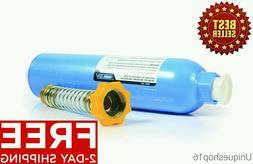 TASTEPURE 40043  RV MARINE WATER FILTER WITH FLEXIBLE HOSE P