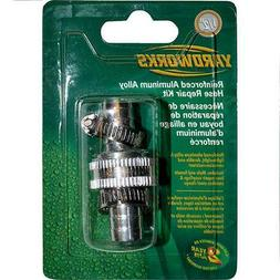 "5/8"" Garden Hose End Repair Kit Hose Coupling w/ Clamp"