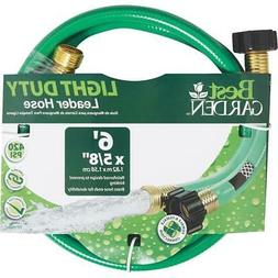 Best Garden 5/8 In. Dia. x 6 Ft. L. Leader Hose with Male &