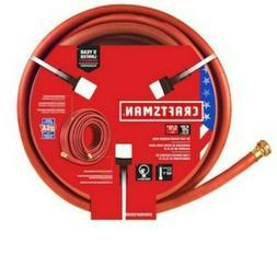 Craftsman 5/8 inx 50 ft , duty rubber red hose /home garden