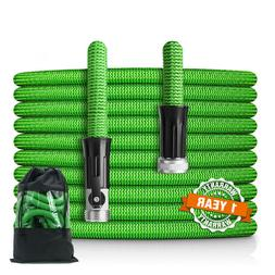 50,75,100ft Garden Hose Lightweight Expandable Heavy Duty Fl