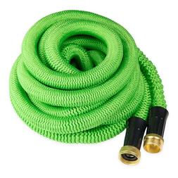 50 Feet Expandable Flexible Garden Water Hose Brass Retracta