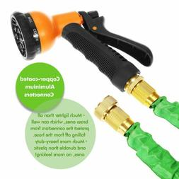 Ohuhu 50 Feet Expandable Garden Hose with 8-pattern Sprayer
