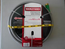 "Craftsman 50 foot Garden Hose, 5/8"", Water, Gardening, Grey"
