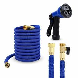 Ohuhu 50 FT Garden Hose Expandable Hoses 8-Pattern Spray Noz
