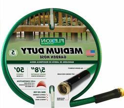 50' Medium Duty Water Hose For Lawn Garden Backyard And Pati