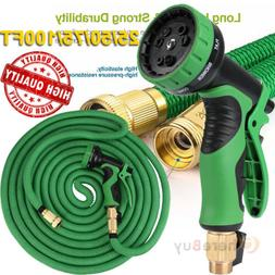 50FT 75FT Expandable Flexible Garden Water Hose Retractible