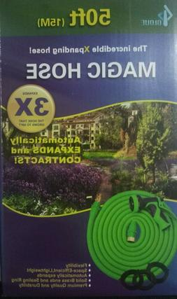 50ft Garden Hose - All New Expandable Water Hose with Double