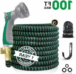 50ft garden water hose expandable double latex