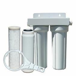 Watts 520022 RV/Boat Duo Exterior Water Filter with Garden H