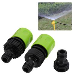 5pcs Garden Hose Quick Connect Plastic Hose Tap Adapter Conn