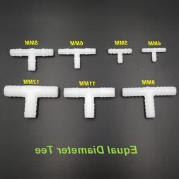 5pcs/lot PE Food Grade T-Type Tee <font><b>Hose</b></font> <