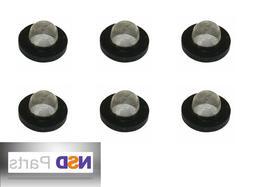 6 PCS GARDEN HOSE WASHERS FILTER SCREEN Metal Nozzle Sprinkl