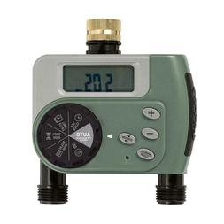 Orbit 62057 ECO SERIES 2 Outlet Garden Hose Faucet Digital T