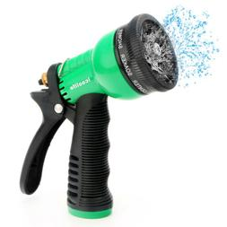 7 Way Patterns Heavy Duty Garden Hose Water Pressure Spray N