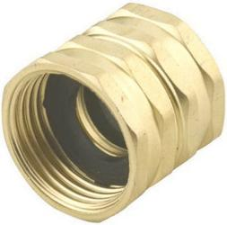 Green Thumb 7FHS7FGT Brass Double Female Swivel Hose to Hose