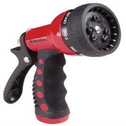 9 Pattern Revolver Spray Gun Nozzle - Color: Red