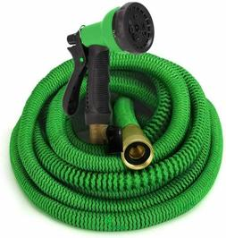GrowGreen All New 2019 Garden Hose 50 Feet Improved Expandab