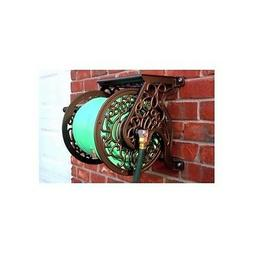 Liberty Garden Aluminum Wall Mount Cast Hose Reel
