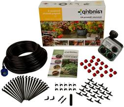 RAINDRIP  AUTOMATIC DRIP WATERING PATIO KIT With Electric Ti
